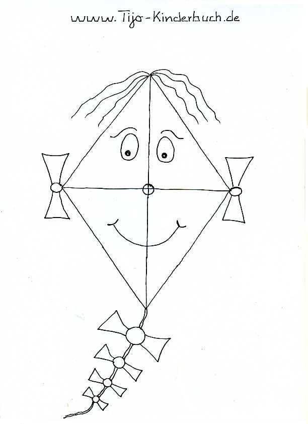 Ausmalbild Tijo Kinderbuch Tina Birgitta Lauffer