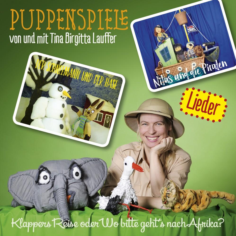 Tina Birgitta Lauffer - CD mit den Liedern der Puppenspiele
