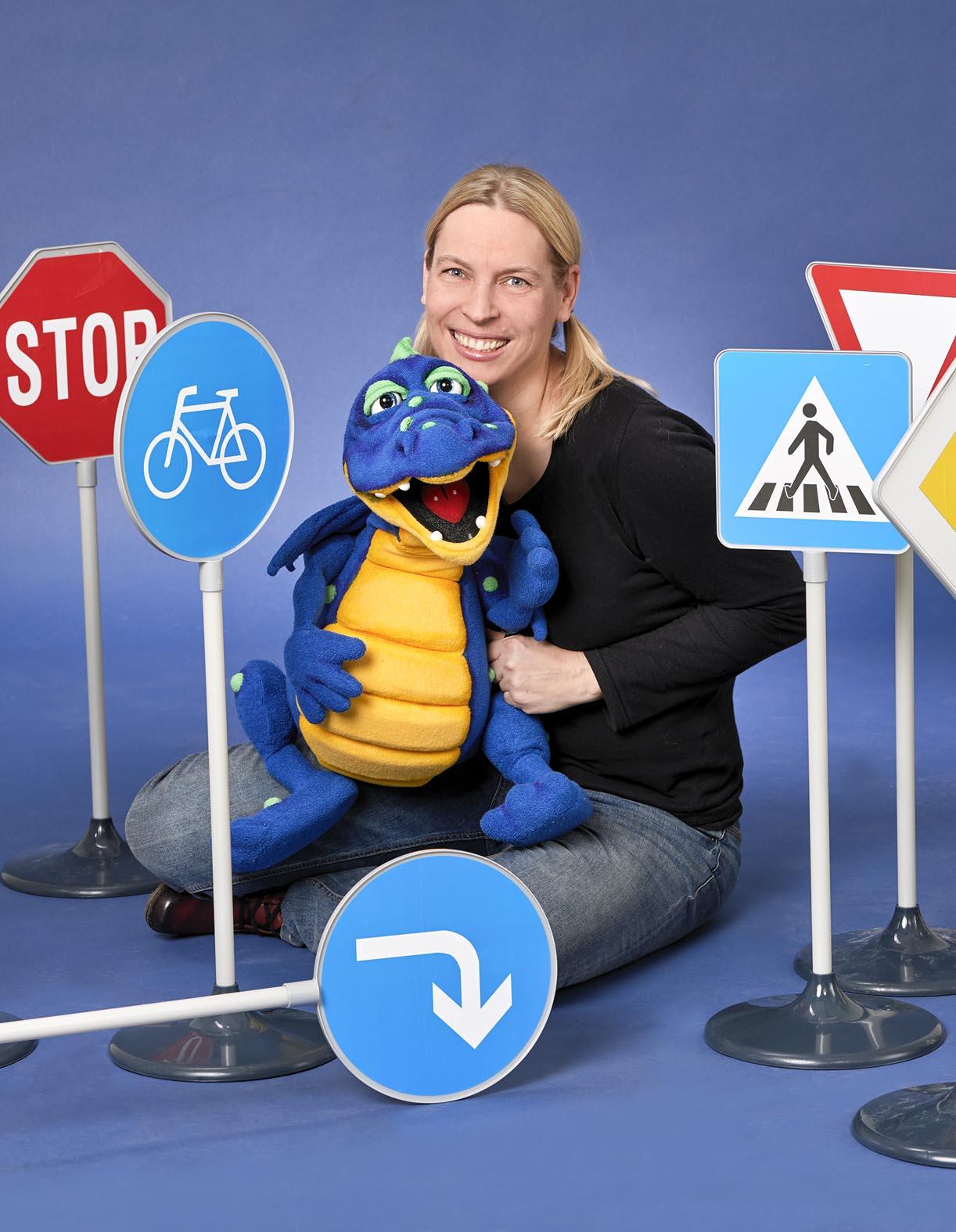 Tijo Kinderbuch - Neu: Verkehrsprogramm mit Valentin