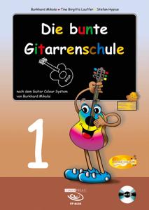 Tina Birgitta Lauffer - Die bunte Gitarrenschule 1